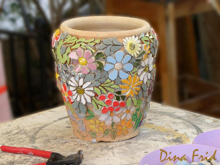 Глиняный горшок для цветов своими руками