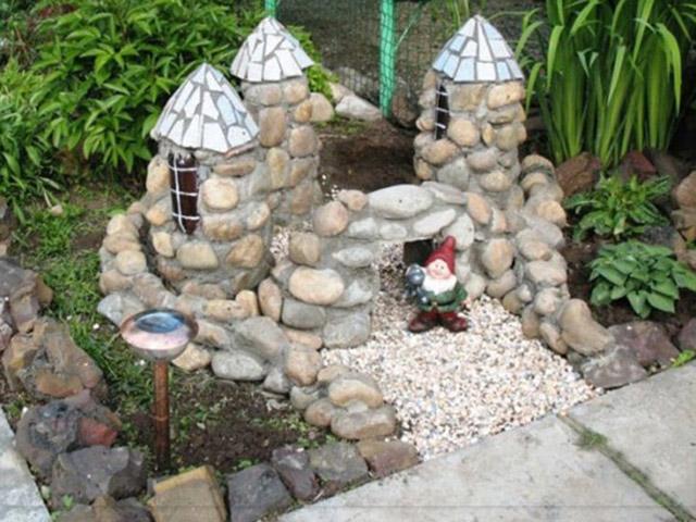 Поделки из бетона для сада своими руками мастер класс фото фото 873