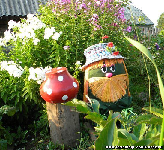 Для сада и огорода своими руками поделки