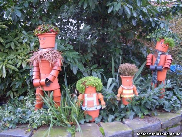 Человечки для сада и огорода